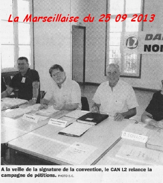 Journal La Marseillaise du 25 septembre 2013